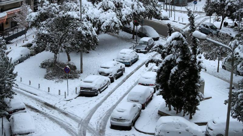 """Снігопади і морози: у Грецію прийшов потужний циклон """"Медея"""""""