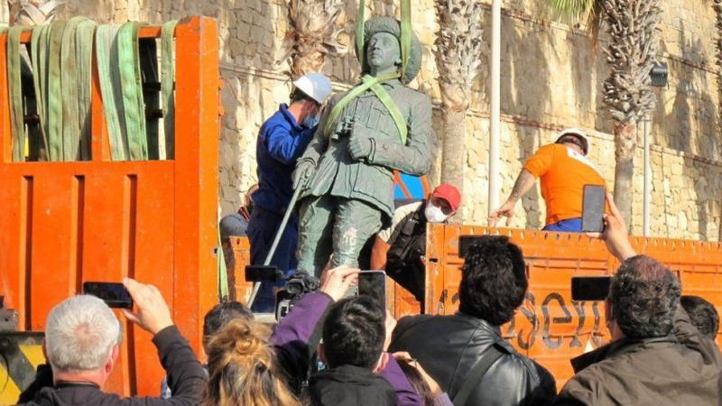 На території Іспанії демонтували останній пам'ятник диктатору Франко
