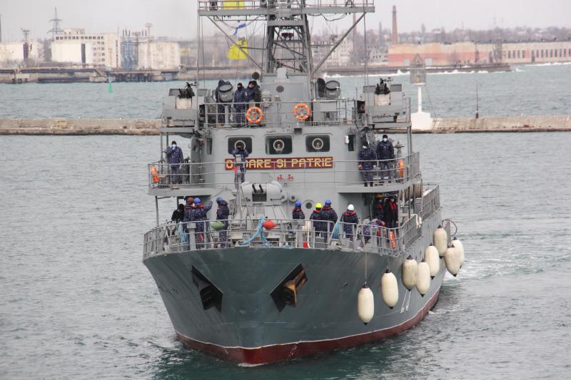 До порту Одеси зайшли чотири кораблі НАТО