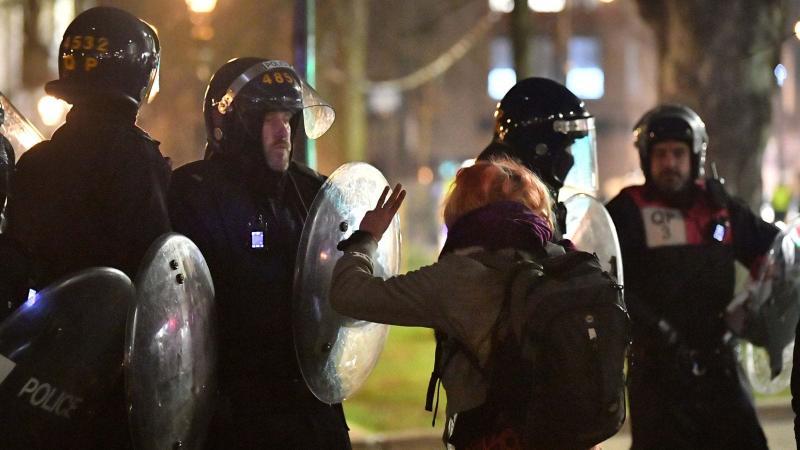 В Англії вдруге протестували проти закону про поліцію, 14 затриманих