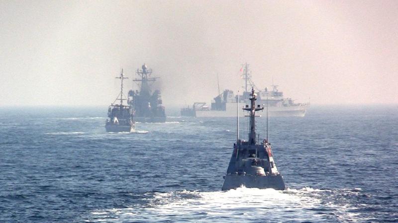 ВМС України провели навчання з кораблями НАТО у Чорному морі