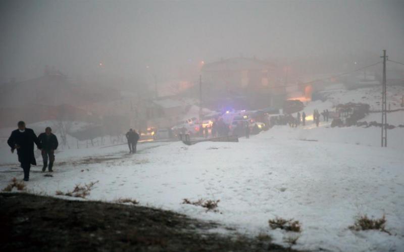 Катастрофа вертольота у Туреччині: загинули 11 військових, у тому числі командувач корпусу