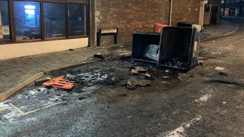 Після заворушень в англійському Бристолі затримали 7 осіб, постраждали 20 правоохоронців