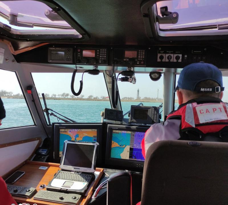 У рамках «Дня безпеки» екіпаж ПРК-05 провів навчання з пошуку та рятування