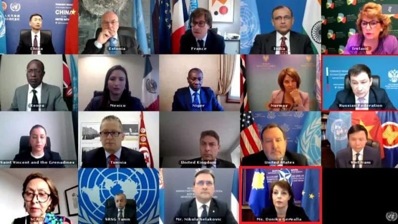 Росія зірвала зустріч РБ ООН через демонстрацію косовського прапора