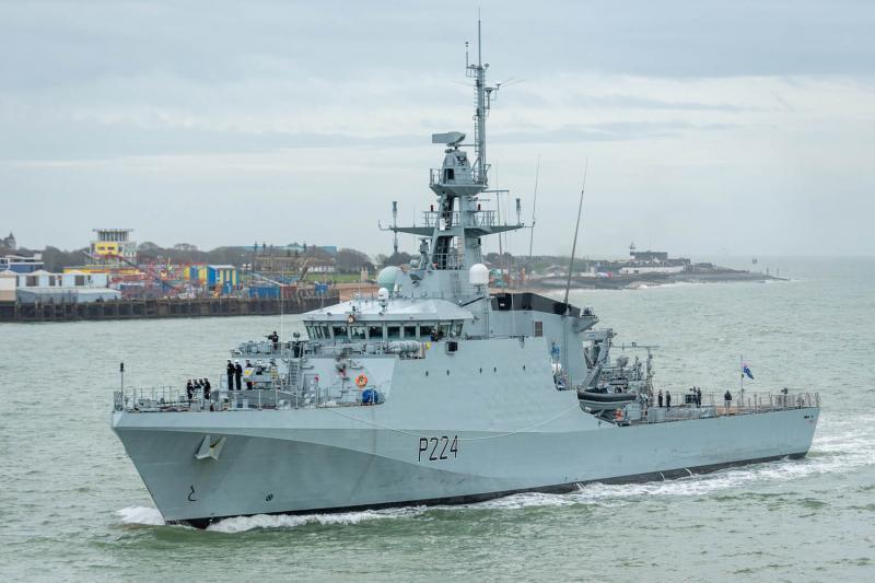 У Чорне море прямує патрульний корабель королівського флоту Британії Trent