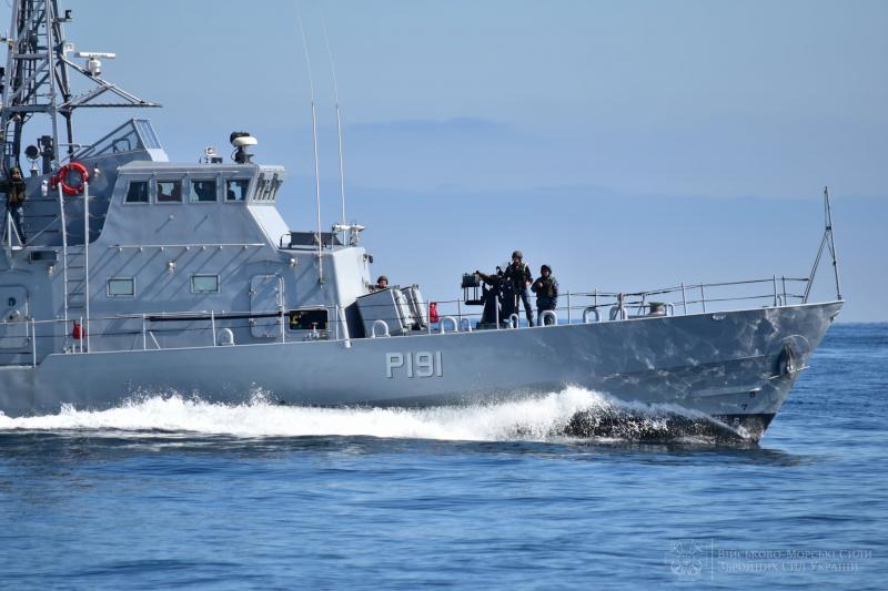 ВМС України спільно з Британією провели навчання у Чорному морі