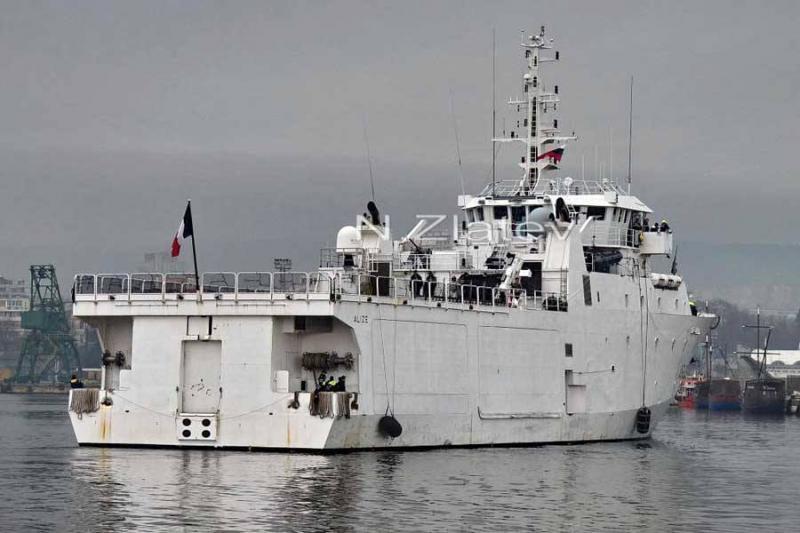 До Чорного моря увійшов розвідувальний корабель ВМС Франції