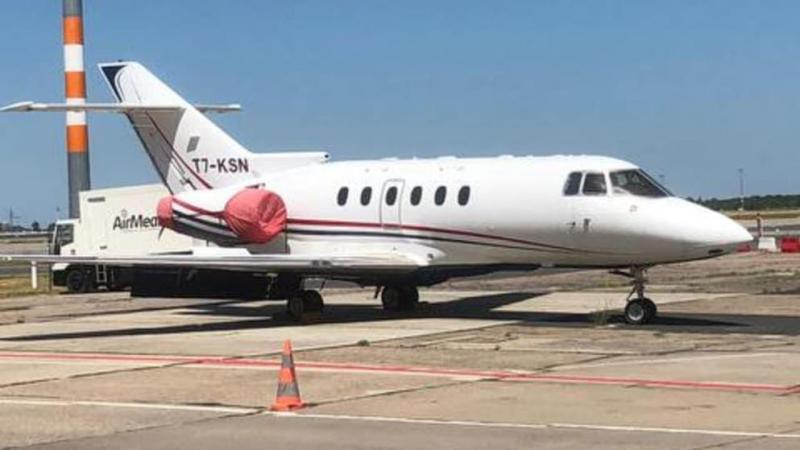"""Літак """"кухаря Путіна"""" стоїть в аеропорту Берліна попри санкції ЄС"""