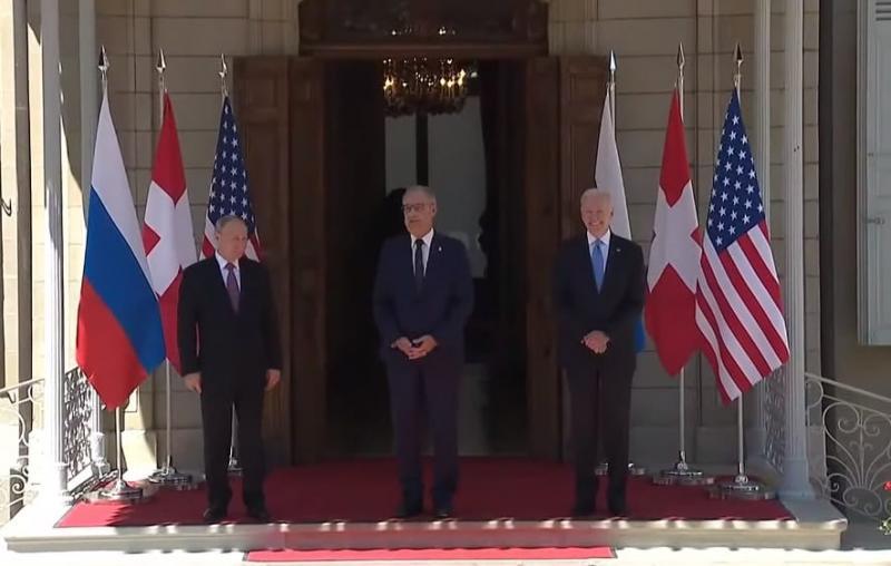Зустріч Байдена і Путіна почалася у Швейцарії
