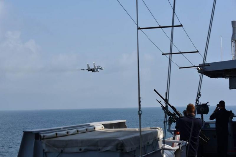 Нідерланди звинуватили літаки РФ у небезпечних діях поблизу фрегата в Чорному морі