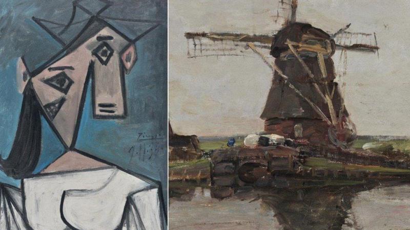 В Афінах знайшли вкрадені 9 років тому полотна Пікассо і Мондріана