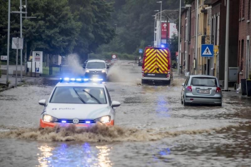 Через повені у Бельгії загинули двоє людей, скасовані потяги
