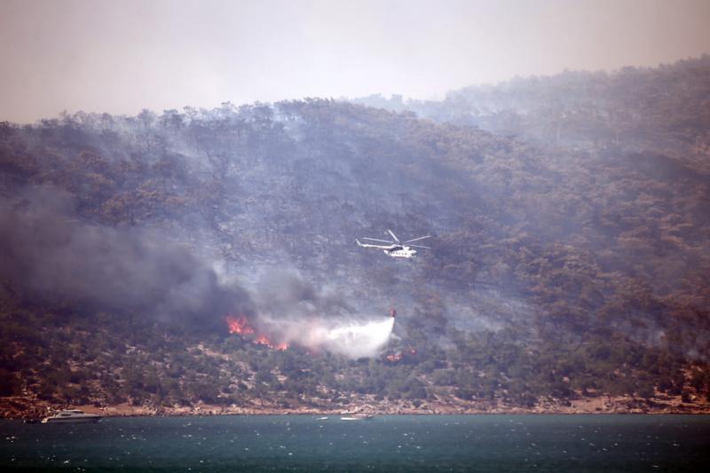Лісові пожежі в Анталії: кількість загиблих зросла до трьох