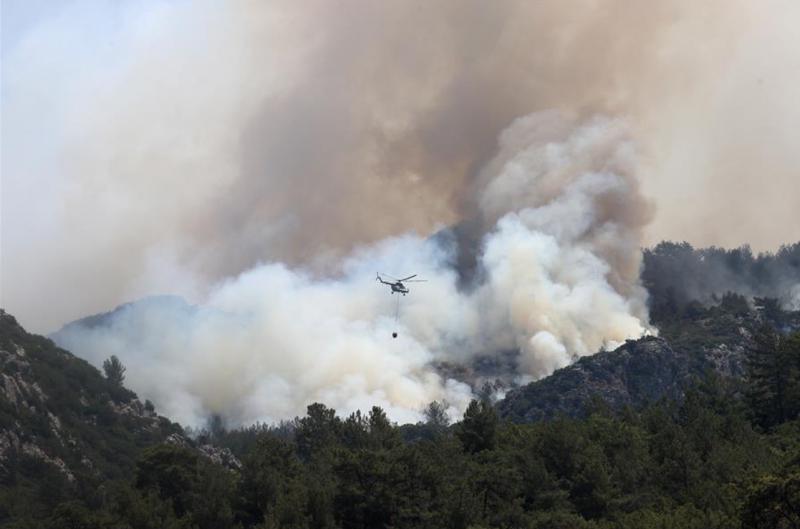 У Туреччині заявили, що взяли під контроль більшість з 98 осередків пожеж