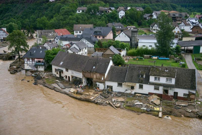 Кількість загиблих від повеней в Німеччині зросла до 33, рятувальні роботи тривають