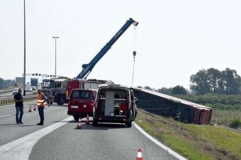 Стали відомі нові подробиці аварії автобуса в Хорватії, в якій 10 людей загинули і десятки травмувались