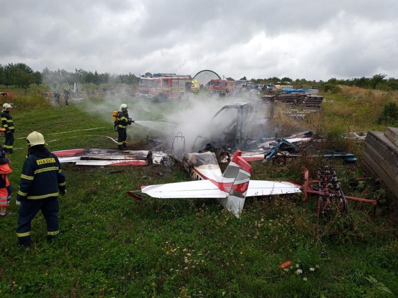 В аварії невеликого літака в Словаччині загинули 3 осіб