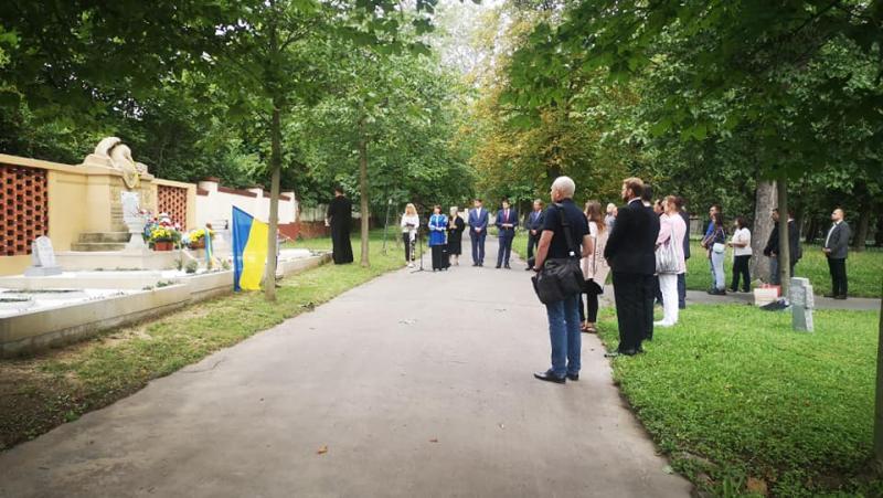 В Чехії відкрили відреставрований меморіал загиблим українським воїнам