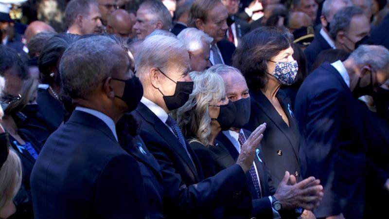 Дзвони і майже 3000 імен: США вшановують пам'ять загиблих у терактах 11 вересня